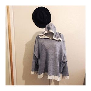 Old navy hoodie sweater size 2x heathered blue